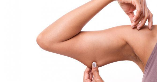 perdre bras cellulite sport