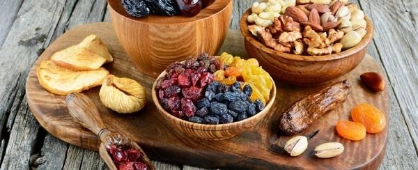 fruits secs bienfaits