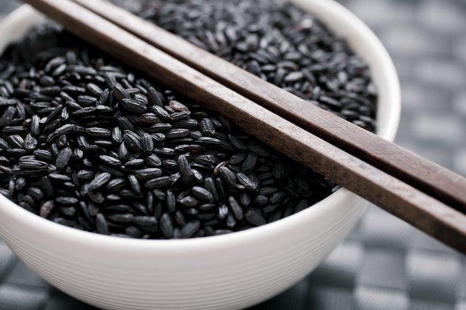 riz noir recettes
