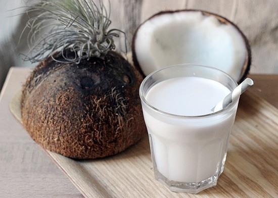 bienfaits lait de coco