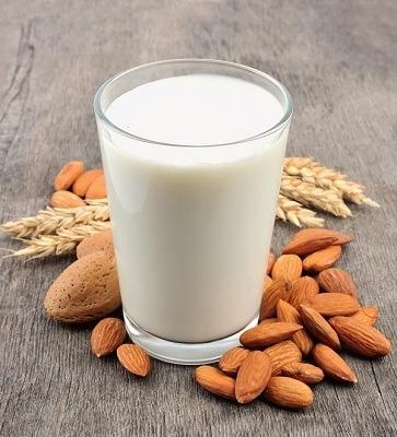 vertus du lait d'amande