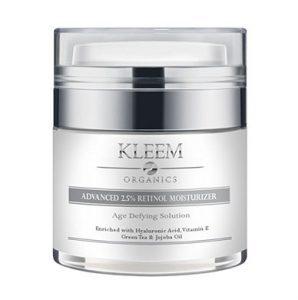 Kleem Organics : meilleure crème anti-rides efficace ?
